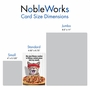 Humorous Birthday Paper Card From NobleWorksCards.com - Pizza Fitness image 4