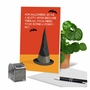 Hilarious Halloween Printed Card By Bluntcard From NobleWorksCards.com - Pointy Hat image 6
