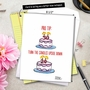 Hilarious Birthday Jumbo Greeting Card by Maria Scrivan from NobleWorksCards.com - Pro Tip image 6