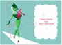 Creative Christmas Paper Card by Kirsten Ulve from NobleWorksCards.com - ...psst! image 1