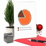 Hysterical Merry Christmas Printed Card From NobleWorksCards.com - Pumpkin Pie Chart image 5