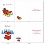 Stylish Merry Christmas Card From NobleWorksCards.com - Punny Holidays image 1