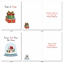 Stylish Merry Christmas Card From NobleWorksCards.com - Punny Holidays image 4