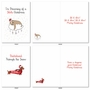Stylish Merry Christmas Card From NobleWorksCards.com - Punny Holidays image 5