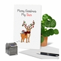 Creative Merry Christmas Greeting Card From NobleWorksCards.com - Punny Holidays - Deer image 6
