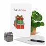 Creative Merry Christmas Printed Card From NobleWorksCards.com - Punny Holidays - Present image 6