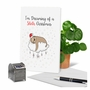 Creative Merry Christmas Printed Greeting Card From NobleWorksCards.com - Punny Holidays - Sloth image 6