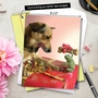Stylish Thank You Jumbo Greeting Card by Chiara Castellini from NobleWorksCards.com - Puppy Love image 6