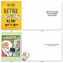 Funny Retirement Paper Greeting Card By Assorted Artists From NobleWorksCards.com - Ready For Retirement image 5