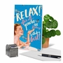 Funny Birthday Paper Greeting Card By Offensive+Delightful From NobleWorksCards.com - Relax Birthday Girl image 6