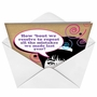 Funny New Year Printed Greeting Card from NobleWorksCards.com - Repeat Mistakes image 2