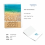 Stylish New Year Card From NobleWorksCards.com - Sands Of Time - 2020 image 2