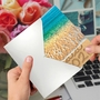 Stylish New Year Card From NobleWorksCards.com - Sands Of Time - 2020 image 3