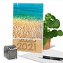 Stylish New Year Card From NobleWorksCards.com - Sands Of Time - 2020 image 6