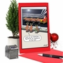 Hysterical Merry Christmas Greeting Card By Tim Whyatt From NobleWorksCards.com - Santa Aerodynamics image 5