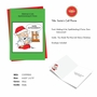Humorous Merry Christmas Card By Martin J. Bucella From NobleWorksCards.com - Santa Autocorrect image 2
