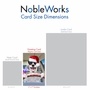 Humorous Merry Christmas Card From NobleWorksCards.com - Santa Dog Driver image 5