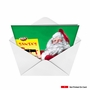Hysterical Christmas Printed Greeting Card from NobleWorksCards.com - Santa Shit List image 2