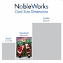 Humorous Merry Christmas Paper Card From NobleWorksCards.com - Santa Stiff Joints image 4