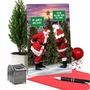 Humorous Merry Christmas Paper Card From NobleWorksCards.com - Santa Stiff Joints image 5