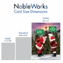 Funny Merry Christmas Jumbo Card From NobleWorksCards.com - Santa Stiff Joints image 4