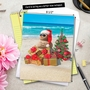 Stylish Blank Jumbo Greeting Card from NobleWorksCards.com - Season's Beachin' image 6