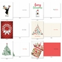 Stylish Merry Christmas Paper Card By Assorted Artists From NobleWorksCards.com - Season's Best image 3
