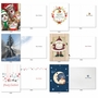 Stylish Merry Christmas Paper Card By Assorted Artists From NobleWorksCards.com - Season's Best image 5