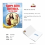 Funny Milestone Birthday Jumbo Paper Greeting Card From NobleWorksCards.com - See You Soon-40 image 2