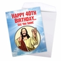 Funny Milestone Birthday Jumbo Paper Greeting Card From NobleWorksCards.com - See You Soon-40 image 3