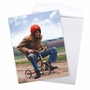 Funny Retirement Jumbo Paper Greeting Card By Awkward Family Photos From NobleWorksCards.com - Senior Trike Ride image 3