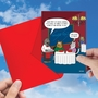 Humorous Valentine's Day Card By Scott Metzger From NobleWorksCards.com - Seven Courses image 3