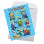 Humorous Retirement Jumbo Card By Daniel Collins From NobleWorksCards.com - Seven Dwarves of Retirement image 3