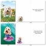 Funny Birthday Card By Michael Quackenbush From NobleWorksCards.com - Shaggy Dogs image 3