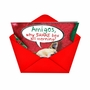 Humorous Christmas Printed Card from NobleWorksCards.com - Shake The Box All Morning image 2