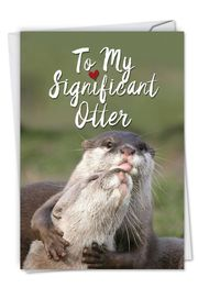 Significant Otters Card