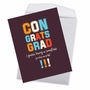 Funny Graduation Jumbo Card By Offensive+Delightful From NobleWorksCards.com - Smartass image 2