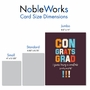 Funny Graduation Jumbo Card By Offensive+Delightful From NobleWorksCards.com - Smartass image 4