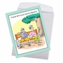 Humorous Birthday Jumbo Paper Greeting Card By Martin J. Bucella From NobleWorksCards.com - Social Security Benefits image 2