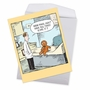 Humorous Get Well Jumbo Card By Dave Coverly From NobleWorksCards.com - Sore Gingerbread Man image 2