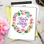 Stylish Mother's Day Jumbo Printed Card from NobleWorksCards.com - Spanish image 6