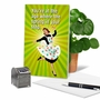 Funny Birthday Paper Greeting Card From NobleWorksCards.com - Spring In Step image 5