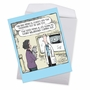 Humorous Birthday Jumbo Paper Greeting Card By Dave Coverly From NobleWorksCards.com - Squeaker Toy image 2