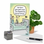 Funny Get Well Card By Dave Blazek From NobleWorksCards.com - Straw Ban image 6