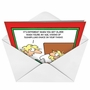 Hilarious Christmas Paper Card by Randy Glasbergen from NobleWorksCards.com - Sugar Plum Thighs image 2