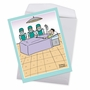 Funny Get Well Jumbo Paper Card By Maria Scrivan From NobleWorksCards.com - Surgery Selfie image 2