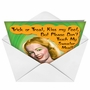 Funny Halloween Greeting Card from NobleWorksCards.com - Sweater Meat image 2