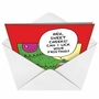 Hilarious Christmas Greeting Card by Scott Nickel from NobleWorksCards.com - Sweet Cheeks image 2