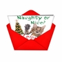 Funny Christmas Printed Greeting Card from NobleWorksCards.com - Take the 5th image 2