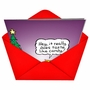 Funny Christmas Printed Greeting Card by Randall McIlwaine from NobleWorksCards.com - Taste Like Candy image 2